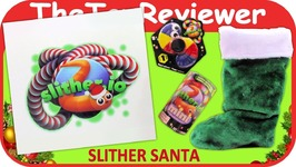 Slither Santa Slither io Christmas Holiday Present Gift Stocking Unboxing Toy Review