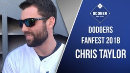 Dodgers 2018 FanFest - Chris Taylor Motivated To Return To The World Series