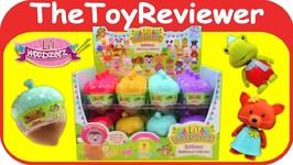 Full Case Series 4 Lil Woodzeez Blind Bags Bobbleez Acorns Unboxing Toy Review