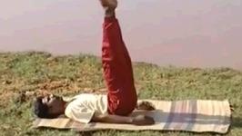 Yoga Mudras - Viparita Karani Mudra - Upside Down Seal Pose
