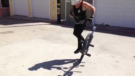 Daredevil Demonstrates Impressive Bicycle Skills