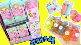 Num Noms Snackables (Series 4) FULL BOX Opening! Soda Slime  DIY Crunchy Slime