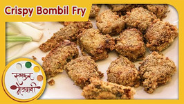 Crispy Bombil Fry - Fish Recipe by Archana - Easy and Quick Non Veg Indian Starter in Marathi