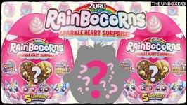 NEW Rainbocorns Mini Sparkle Heart Surprise Plushies
