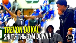Trevon Duval Shuts Gym Down vs Kyrie Irving's Old High School Img vs St Patrick Full Highlights