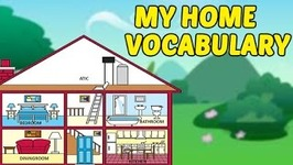 My Home Vocabulary - House Vocabulary For Kids - Fun And Learn - Preschool Learning Videos For Kids