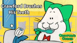 Crawford Brushes His Teeth - Educational Video For Kids