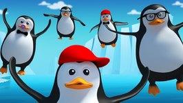Five Little Penguins - Nursery Rhyme - Kids Songs - Kids Tv Nursery Rhymes For Children