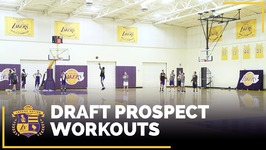 Lakers Draft Workouts - Cline, Evans, Hart, a Bidias, Roberson