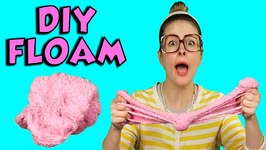 How to Make Floam - Arts and Crafts with Crafty Carol
