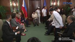 Australian Spy Chief Meets With Philippine President Duterte