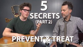 5 Secrets To Prevent And Treat Hand, Wrist, Arm Pain And Injuries - Part 2