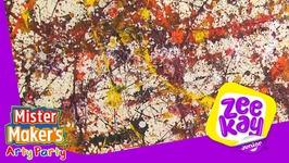 Jackson Pollock - Arty History - Mister Maker