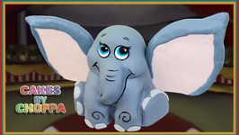 Dumbo Inspired Baby Elephant Cake (How To)