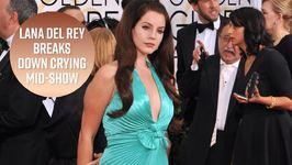 Lana Del Rey Cries On Stage After Kidnapper Arrested