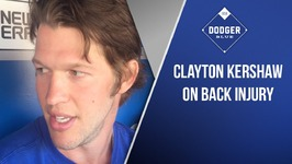 Clayton Kershaw On Back Injury