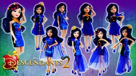 Disney Descendants 2 Movie Evies 4 Hearts Doll Review