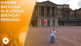 Harper Beckham has 6th Birthday at Buckingham Palace