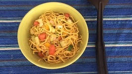 Quick Easy Noodles Bowl / Better Than Maggi Homemade Noodles