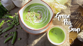Thick Sweet Corn And Pea Soup - Easy To Make Pea Soup