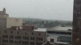 Roof Shingles Fly During Dayton Wind Storm