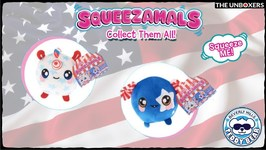July 4th Squeezamals  Claire's Exclusives