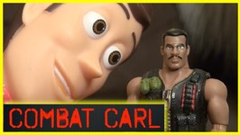 Toy Story 4 Combat Carl - Ping Pong Launcher - Woody And Buzz Lightyear