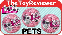 L O L Surprise Pets Eye Spy Blind Bags Balls Dolls Series 4