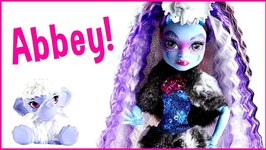 Monster High Abbey Bominable Doll Review - Collectors Edition Doll