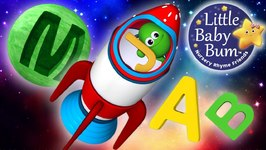 ABC Song - In Outer Space - Nursery Rhymes - Original Song