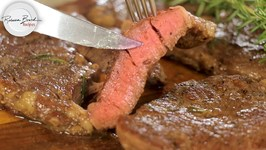 Rib Eye Steak Reverse Sear For Perfect Cooking - Extra Tender - No Thermometer Method