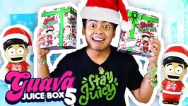 GUAVA JUICE BOX 5 HOLIDAY EDITION UNBOXING