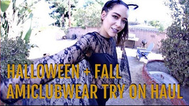 Amiclubwear Try On Halloween Costumes And Fall Haul