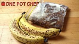 Quick Tips - Saving Over Ripe Bananas