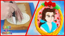 Belle Cake - Beauty And The Beast (How To)