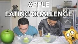 Apple Eating Challenge