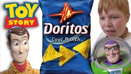 Toy Story 4 Doritos Kidnapping - Woody Buzz Lightyear