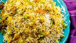 Biryani - Restaurant Style Hyderabadi Veg Dum Biriyani