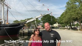 YouTube Live July 26th - Send Us Some Travel Questions Please