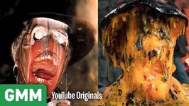 Raiders of The Lost Ark Face Melt Scene w CHEESE