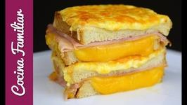 Sándwich Croqué Monsieur, el mejor sándwich, recetas en un minuto
