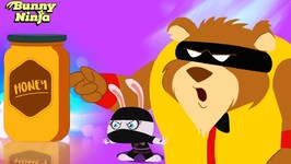 Oso Strongs New Job - Kids Funny Videos - Bunny Ninja Show - New Episode - Cartoon