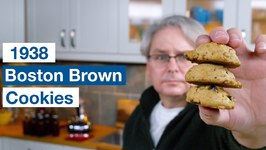 1938 Boston Brown Cookies Recipe