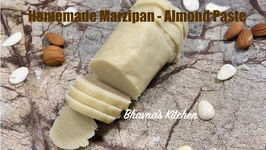 How To Make Vegan Marzipan - Almond Paste Homemade Recipe