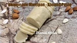 How To Make Vegan Marzipan - Almond Paste Homemade Recipe