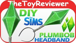 DIY Sims Plumbob Headband Easy Halloween Costume Diamond Unboxing Toy Review by TheToyReviewer