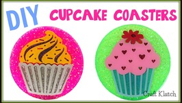 Resin Cupcake Coasters  DIY Projects  Another Coaster Friday  Craft Klatch  How To