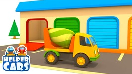 Helper Cars 6- Car Cartoons for Children. Trucks for Children Repair the Road. Vehicles for Kids.