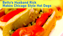 Betty's Husband Rick Makes Chicago Style Hot Dogs -- 4th of July