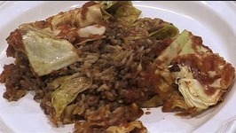 Easy Dirty Rice Cabbage Casserole Recipe
